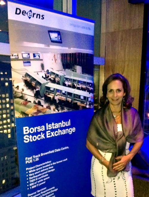 Vera Zaffari, diretora da VZA, compareceu ao evento em São Paulo (crédito VZA)