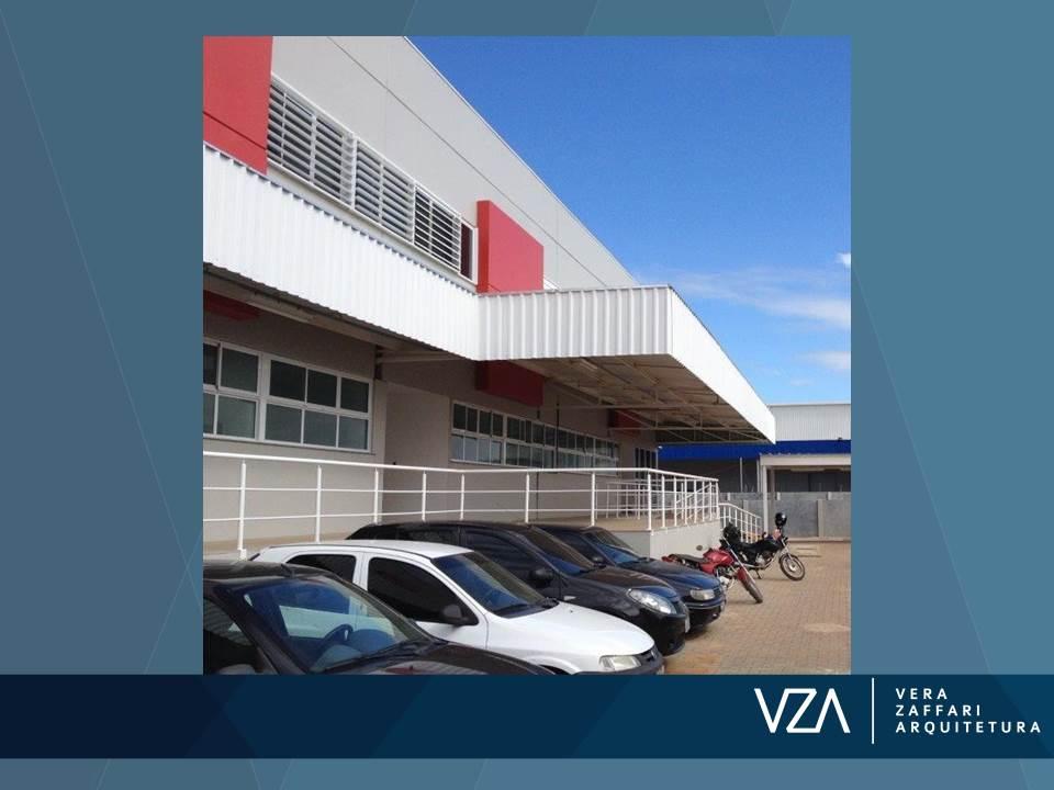 Sede administrativa com 2.000m² de área construída