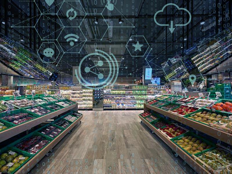 supermercado arquitetura projeto