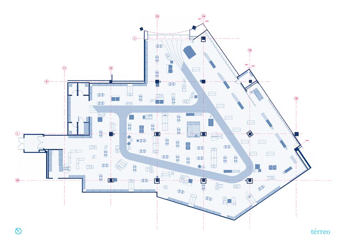 Projeto Arquitetura Centauro Shopping Bosques Dos Ipes Vz Co