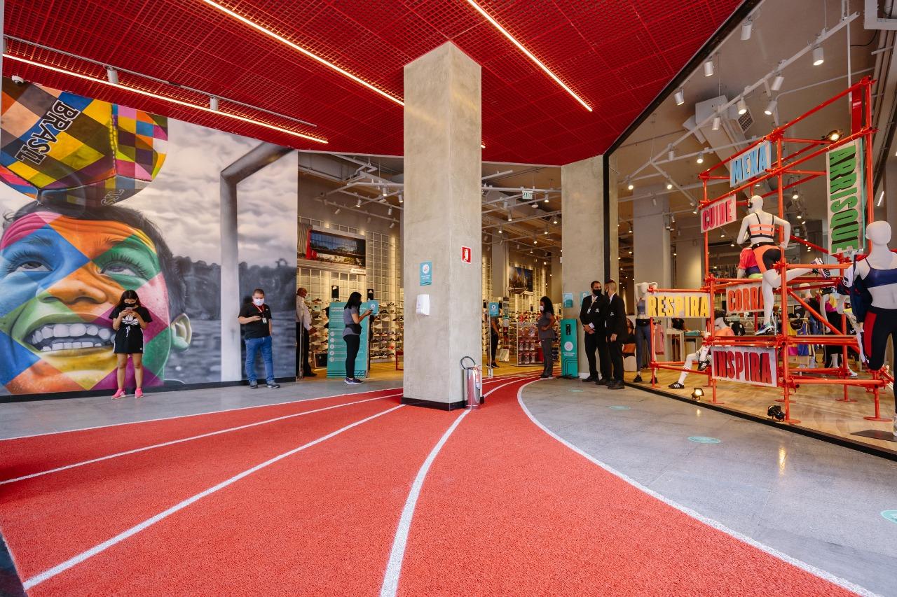 arquitetura loja centauro paulista