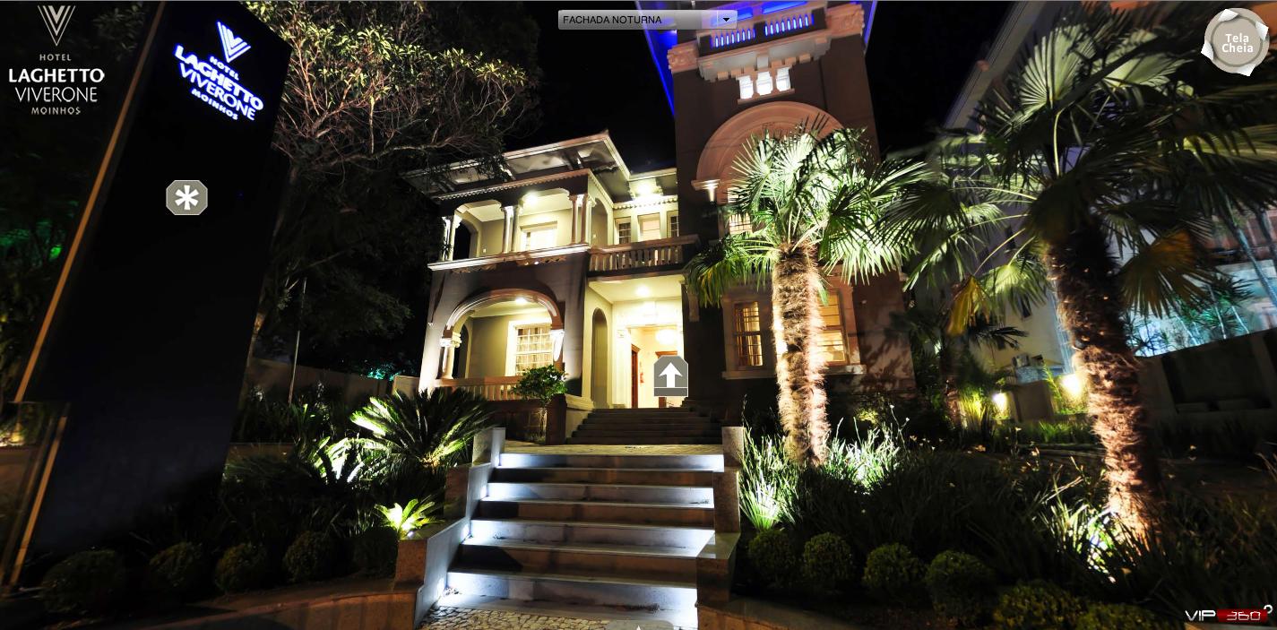 Tour Virtual permite que usuários conheçam o interior do Hotel pela Web